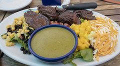 Steak Salad at Blue Corn Cafe (Bill in DC) Tags: nm newmexico 2018 food santafe