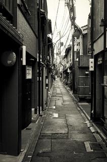 Pontocho-dori Street