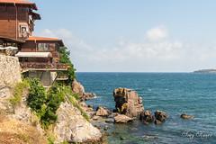 Living on the edge (Tony Kanev) Tags: sea blacksea sozopol bulgaria house landscape serene