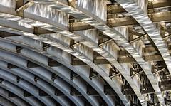 Under the bridge (Andrew-Jackson) Tags: river bridge reflection leeds yorkshire urbexing