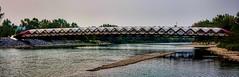 Peace Bridge (Calgary) (Miradortigre) Tags: canada bridge puente brucke bron ponte alberta bow river calgary city ciudad cite calatrava канада 加拿大 קנדה カナダ kanada