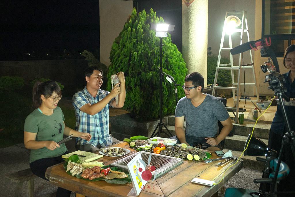 最奢華的中秋烤肉組 海鮮大集合之 龍膽石斑、泰國蝦、蚵、大卷 |小農聯盟16