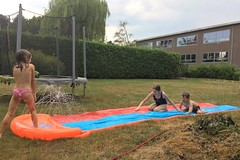 Best purchase of the summer (domit) Tags: water slide garden wemmel rental house belgium isaac jay lena chiara play summer friends