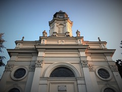 Old church in Pabianice (roomman) Tags: 2018 pabianice town village city church facade weekend escape industry culture history past story lost place lostplace industrial cities towns textile factory