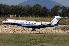 STC Airliner Ltd. Gulfstream G650 M-ATAK GRO 11/08/2018 (jordi757) Tags: airplanes avions nikon d300 gro lege girona costabrava gulfstream g650 gvi gulfstreamvi matak