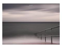 Descent (jp appleton photography) Tags: longexposure ukcoast norfolk sheringham blackandwhite minimalism