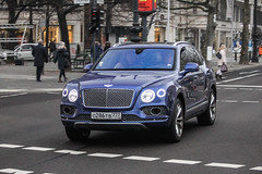 Russia (Moscow) - Bentley Bentayga (PrincepsLS) Tags: russia russian license plate 777 moscow germany berlin spotting bentley bentayga