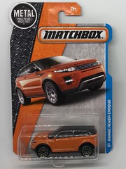 Mattel Matchbox - MBX Adventure City - Number 12 / 120 - Range Rover Evoque  - Miniature Die Cast Metal Scale Model Vehicle (firehouse.ie) Tags: suv automobile l'auto coche car evoque bl rovergroup rover range rangerover models model metal miniatures miniature mbx matchbox mattel