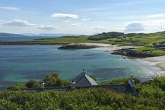 Gallanach Bay (rcoulstock) Tags: gallanach isleofmuck isleofrum muck rum isle island scotland hebrides innerhebrides highlands blue landscape remote rural sea water