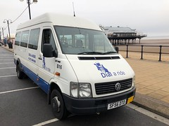 Bus 16 (BiggestWoo) Tags: lt35 volkswagen minibus bus ride dial papas paps pier cleethorpes