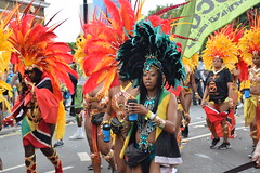 DSC_8303 (photographer695) Tags: notting hill caribbean carnival london exotic colourful costume girls dancing showgirl performers aug 27 2018 stunning ladies