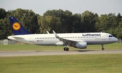 Lufthansa, D-AIUU, MSN 7158, Airbus A 320-214(SL), 20.09.2018,  HAM-EDDH, Hamburg (henryk.konrad) Tags: lufthansa daiuu msn7158 airbus a320214 hamburg hameddh henrykkonrad