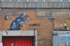 London Street Art 2018/142 (gary8345) Tags: greatbritain graffiti urbanart london britain art england 2018 croydon artistic unitedkingdom risefestival londonist snapseed streetart southlondon uk