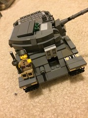 T-34 Front (thelameguitarist) Tags: tank lego russian t34 ww2