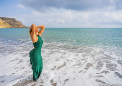 Baño de Sol (josmanmelilla) Tags: retratos playas playa mar modelos moda modelo pwmelilla flickphotowalk pwdmelilla pwdemelilla melilla españa