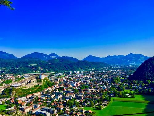 View over Kufstein, Tyrol, Austria