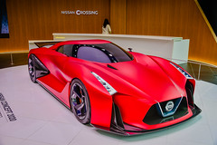 Nissan Concept 2020 Vision Gran Turismo car at Nissan Crossing in Ginza Place - Tokyo Japan (mbell1975) Tags: chūōku tōkyōto japan jp nissan concept 2020 car crossing ginza place tokyo vision gran turismo asia auto automobile coupe sporty sports sportscar red