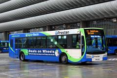 210 PN57 NFD 11 (Cumberland Patriot) Tags: preston bus scania k230ub elc east lancs coach builders esteem 210 pn57nfd low floor omnibus