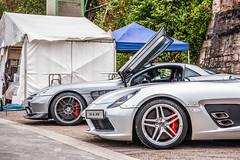 Mercedes-Benz SLR Stirling Moss (Bas Fransen Photography) Tags: mercedesbenz slr stirling moss mercedesbenzslrstirlingmoss silvermercedesbenzslrstirlingmoss mercedesslrstirlingmoss