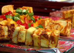 Street Halloumi Cheese Kebabs (Tony Worrall) Tags: add tag ©2018tonyworrall images photos photograff things uk england food foodie grub eat eaten taste tasty cook cooked iatethis foodporn foodpictures picturesoffood dish dishes menu plate plated made ingrediants nice flavour foodophile x yummy make tasted meal nutritional freshtaste foodstuff cuisine nourishment nutriments provisions ration refreshment store sustenance fare foodstuffs meals snacks bites chow cookery diet eatable forsale stock buy image foodphotography buynow sale sell foodfestival event show place street halloumi cheese kebabs