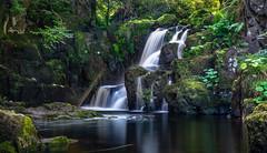 Linn Jaw Waterfall (jasty78) Tags: water waterfall linnjaw linnjawwaterfall longexposure flow livingstone linhousewater scotland nikond7200 sigma350mmf14 swirl