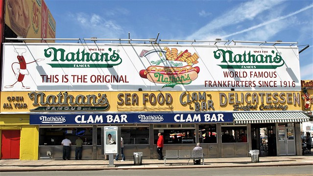 Nathan's Famous - 1916, Coney Island
