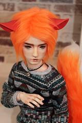 Fox Tail (Anima_Sol) Tags: bjd migidoll ell fox kitsune tail red