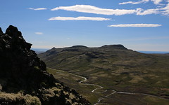 Seljafell af Grímsfjalli (hó) Tags: seljafell grímsfjall snæfellsnes iceland landscape river sky clouds mountain august 2018 kerlingarskarð