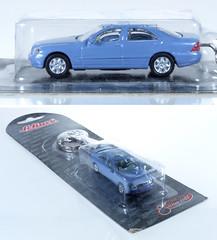 SCH-87-MB-W220-keyring (adrianz toyz) Tags: schuco welly 187 scale model car diecast keyring mercedes mercedesbenz w220 s class klasse adrianztoyz