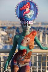 BODYPAINTING @ LIDO DI CAMAIORE 2018 (fabiogis50) Tags: bodypainting bodypaintinglidodicamaiore girl art artist notnude portrait face body