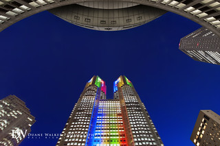 Tokyo Metropolitan Government Building, Olympic Light-Up