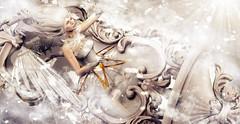 Through the mirror to the heaven (meriluu17) Tags: boudoir angel moonamore aii egosumaii mirror heaven heavenly light lights white fantasy angelic surreal