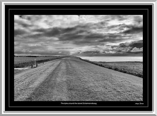 The dyke around the island Schiermonnikoog