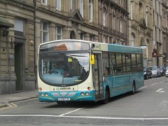Arriva North West 2928 CX58FZK Sir Thomas St, Liverpool on 55 (1280x960) (dearingbuspix) Tags: arriva arrivanorthwest cx58fzk 2928
