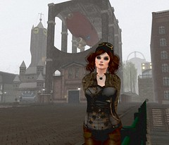New Babbage 2 (Inner Space Explorer) Tags: steampunk airship sl secondlife