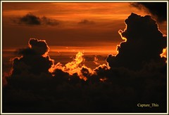 Sunset behind Clouds (todd5524) Tags: sunset clouds sky amazing beauty beautiful colors colorful composition photography photoshop