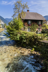 Hallstatt Village. (rpiesio) Tags: river austria hallistatt alps villages houses