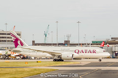 Qatar Airways A7-BDC B787-8 Dreamliner (IMG_9691) (Cameron Burns) Tags: qatarairways qatar airways qr a7bdc boeing boeing787 boeing7878 boeing788 boeing787dreamliner boeing7878dreamliner b787 b788 b7878 dreamliner doh doha red wine burgundy grey manchester airport manchesterairport man egcc ringway viewing park airfield aviation aerospace airliner aeroplane aircraft airplane plane canoneos550d canoneos eos550d canon550d canon eos 550d uk united kingdom unitedkingdom gb greatbritain great britain europe action