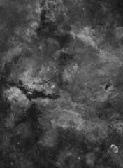 Sadr Region in H Alpha (GraemeCoates) Tags: nebula cygnus butterflynebula halpha canon200mm28lii