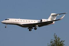M-JCBB_02 (GH@BHD) Tags: mjcbb gulfstream g650 g6 gulfstreamg650 jcb jcbamfordexcavators belfastcityairport bhd egac bizjet corporate executive aircraft aviation