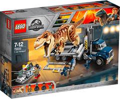 REVIEW LEGO 75933 T-Rex Transport (hello_bricks) Tags: review lego 75933 trex transport truck jurassicworld jurassicpark fallenkingdom dinosaure dinosaurs dinosaur toy movie