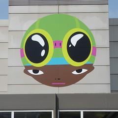 Elmhurst, IL, Elmhurst Art Museum, Building Mural (Mary Warren 11.2+ Million Views) Tags: elmhurstil elmhurstartmuseum art mural