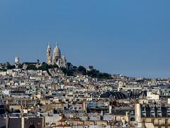 Montmartre et le Sacré-Cœur (Daniel_Hache) Tags: paris montmartre sacrecœur toits france fr