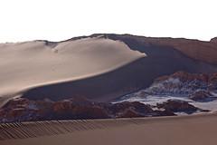 Dunes and salt (daniel.virella) Tags: sand salt domeyko cordilleradelasal saltmountainrange chile atacama picmonkey dune