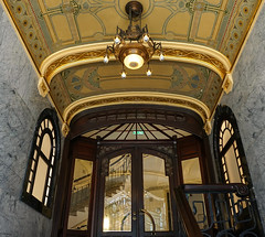 Körnerhaus Hamburg (Körnchen59) Tags: körnerhaus kontor hamburg poststrase eingang entrance tür door körnchen59 elke körner sony