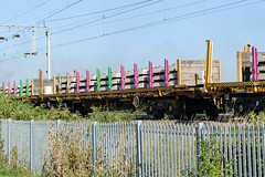 31 70 4629 017-5 Kingsthorpe 020918 (Dan86401) Tags: wilsonscrossing kingsthorpe northampton wcml 6x04 317046290175 7046290175 4629017 704629 4629 70riv riv uic ctregistered ifa bogie sleeper wagon freight nr networkrail sfkmmss engineers departmental infrastructure