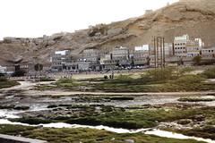 Eastern part of the city (motohakone) Tags: jemen yemen arabia arabien dia slide digitalisiert digitized 1992 westasien westernasia ٱلْيَمَن alyaman