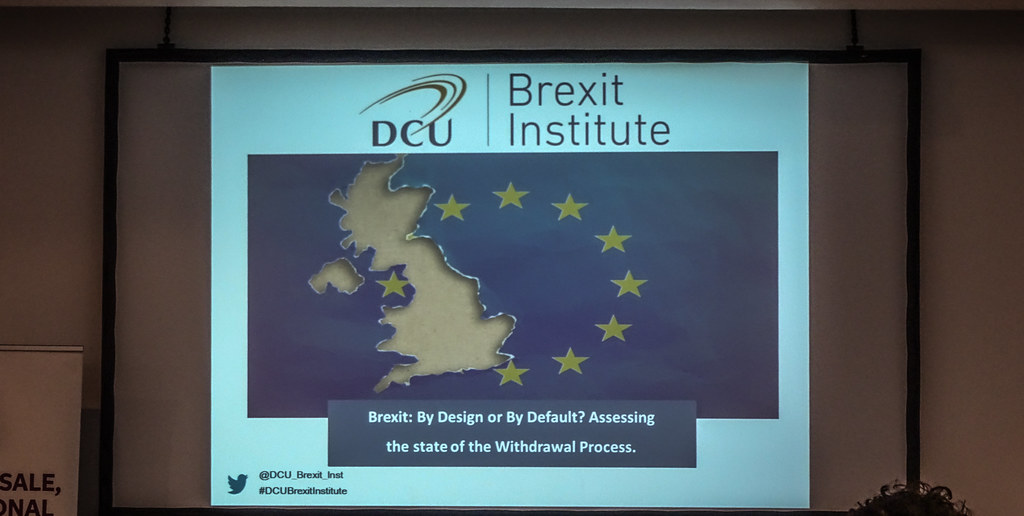 BREXIT BY DESIGN OR BY DEFAULT [6 SEPTEMBER AT THE HELIX]-144002
