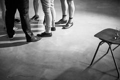 feet (Elmar Egner) Tags: monochrome wedding party empty feet chair romance fujifilm fuji xt1 touit1832 touit zeiss