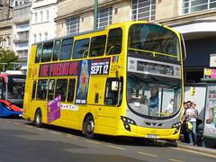 BX12CVO (47604) Tags: bx12cvo 125 yellow buses rapt bus bournemouth